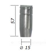 Ugello conico D.15 MB25