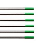 Elettrodi Tungsteno puro WP20 verde Ø1,6 o 2,4mm (conf.10 pz)