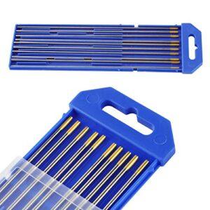 Elettrodi Tungsteno ORO WL1 lantanio 1,5% Ø1,6 o 2,4mm (conf.10 pz)